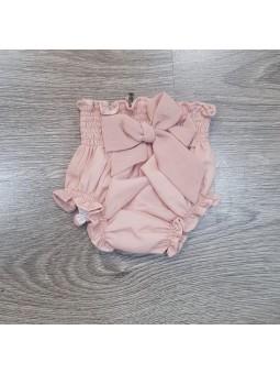 Cubre pañal rosa empolvado...