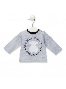 Camiseta rayas oso TOUS BABY
