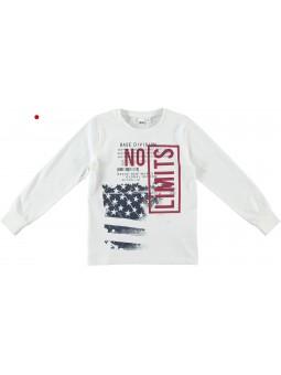Camiseta estampada crudo IDO