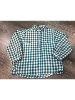 Camisa cuadros verdes JOSE...
