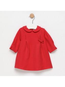 Vestido rojo con lazo FINA...