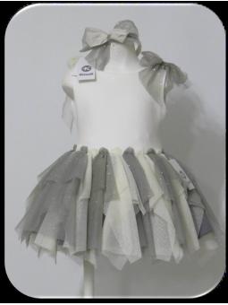 Vestido de tul Coctel KAULI