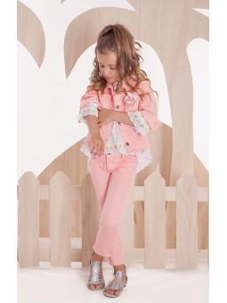 Pantalón rosa Y&C KAULI