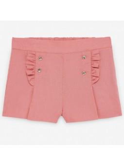 Conjunto de blusa y short...