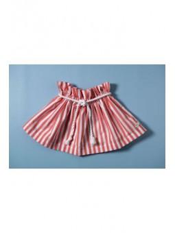 Falda de estampado marinero...