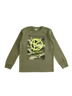 Camiseta camuflaje IDO