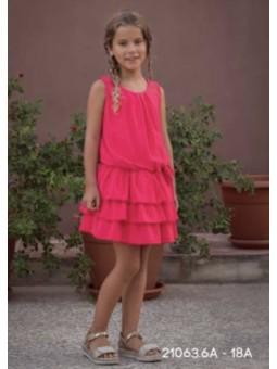 Vestido fresa ATELIER DE...
