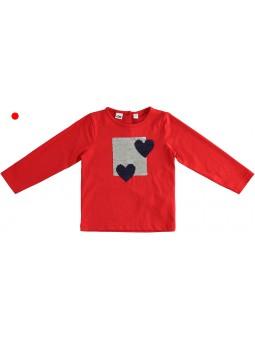 Camiseta corazones IDO